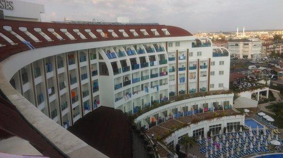 Side Prenses Resort Hotel & Spa: odadan manzara