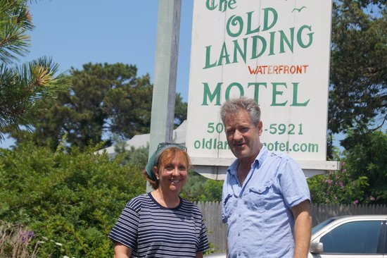 Old Landing Motel: With David, the friendly owner