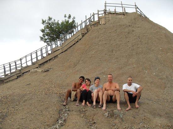 Volcan de Lodo El Totumo (Mud Volcano) : Before the muddy mess...