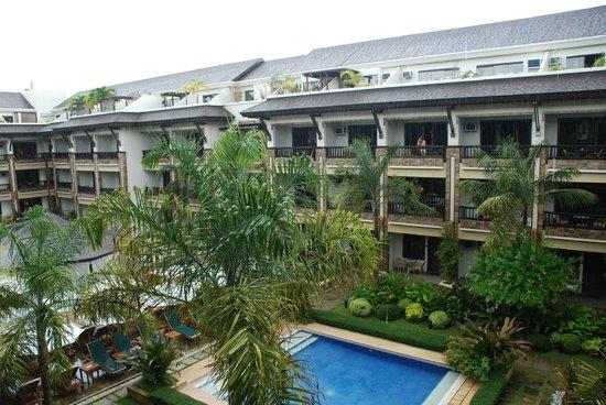 Henann Regency Resort & Spa : Вид с балкона