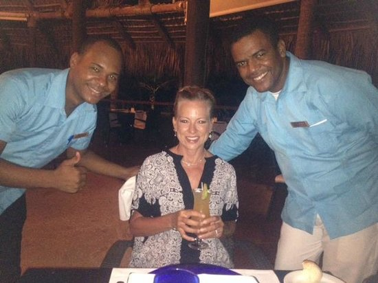 Zoetry Agua Punta Cana: Our favorite Wait Staff - Lonnie and Omar