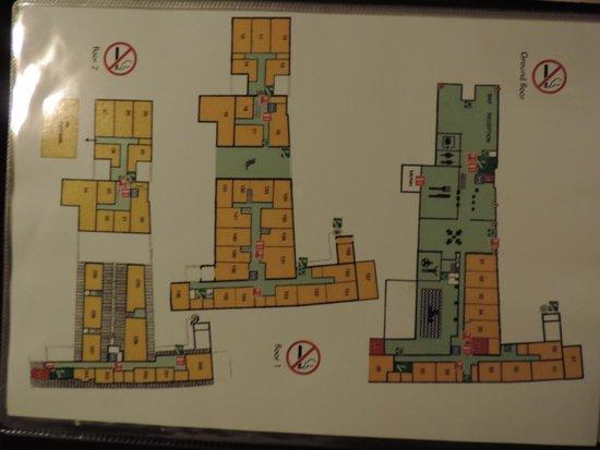 Floris Karos Hotel: plan de l'hotel