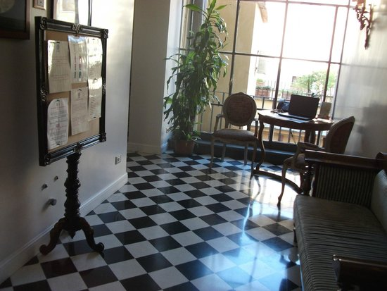 Hotel Mozart: couloir