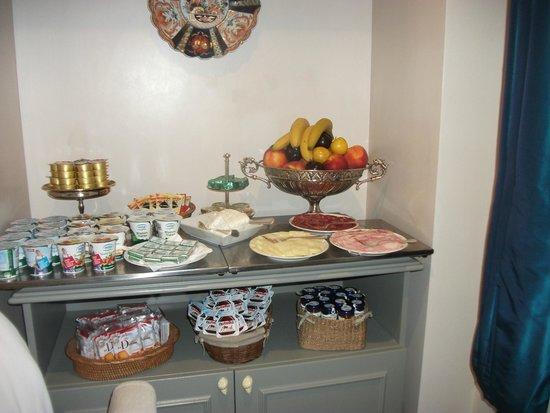 Hotel Mozart: buffet