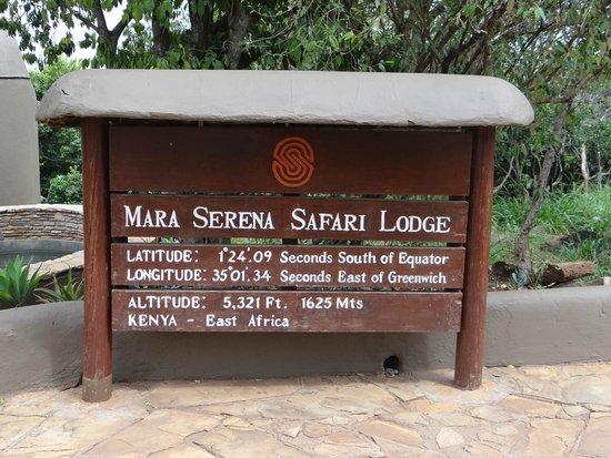Mara Serena Safari Lodge: Hotel info