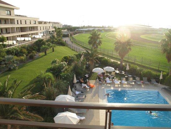 Golden Tulip Villa Massalia : View from hotel Villa Massala
