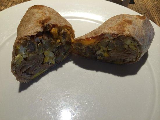Loaded Joe's - Avon: Breakfast burrito at Loaded Joe's in Avon, CO