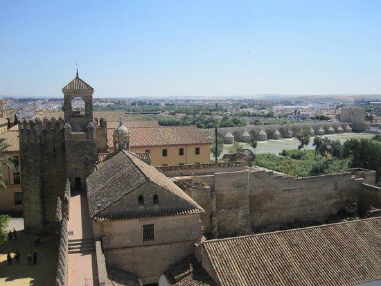 Alcázar de los Reyes Cristianos: View from the tower