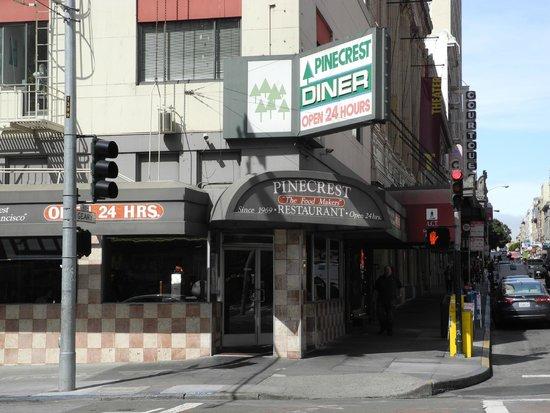 Pinecrest Diner : Esterno