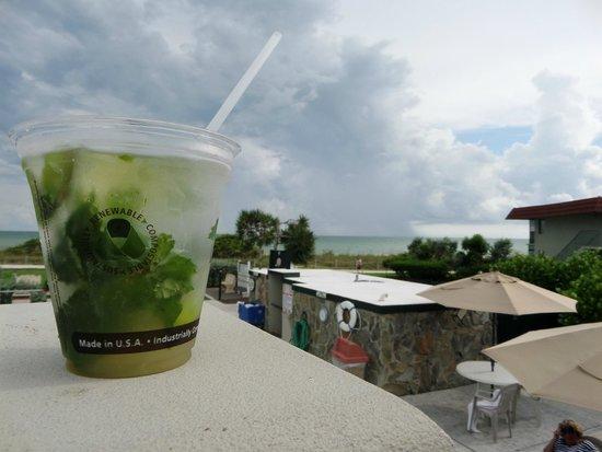 West Wind Inn: Pool Bar Mojito