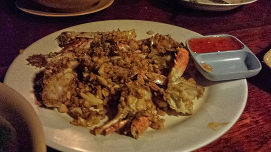 Number 6: crab dishes