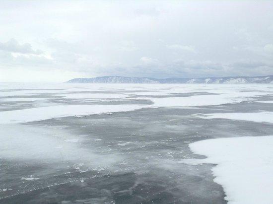 Lake Baikal: На льду Байкала