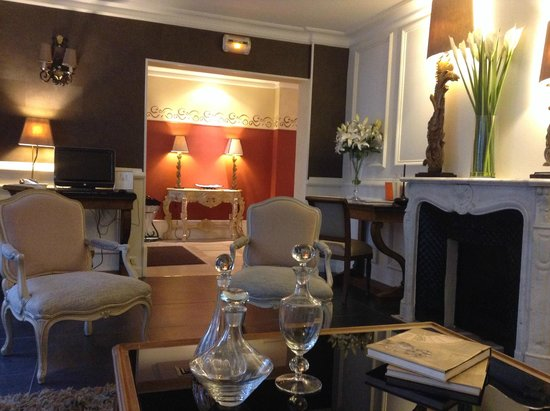 Hôtel Jardin Le Bréa : Public Room with access to laptop & printer