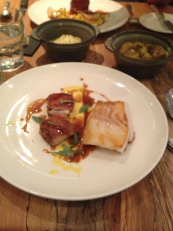 Arbutus: cod and chicken