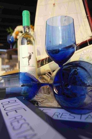 Restaurante Blue : copas