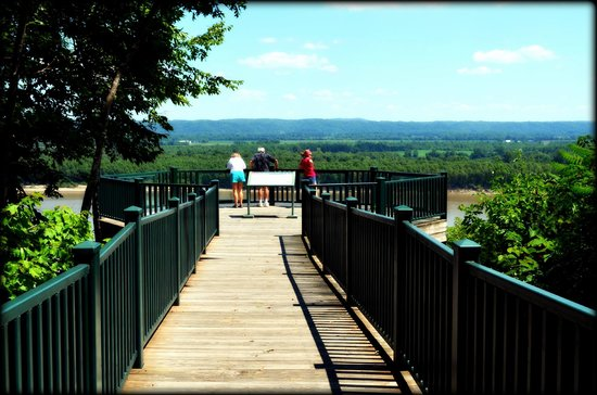 Jackson, MO: overlook, Trail of Tears State Park, MO