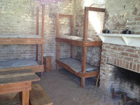 Fort Clinch State Park : Sleeping quarters