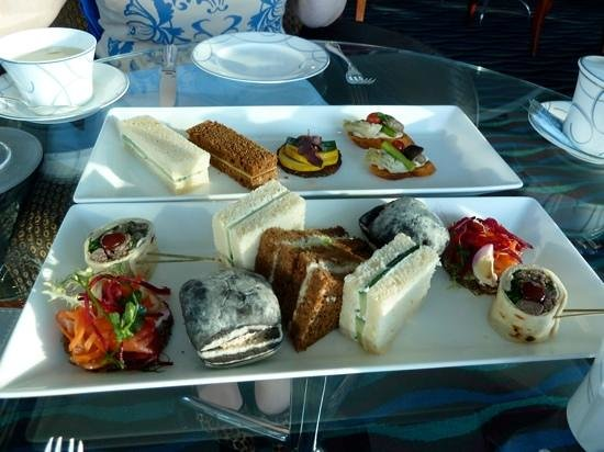 Burj Al Arab Jumeirah: selection of sandwiches