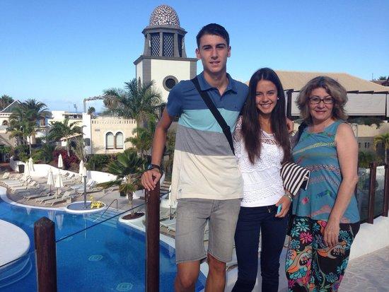 Hotel Suite Villa Maria: Mi familia.  Sitio y trato inmejorable
