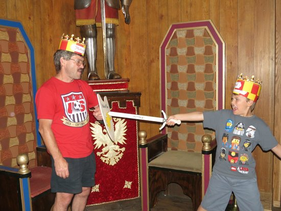 Medieval Times: My husband wasn't as thrilled as my son and I.