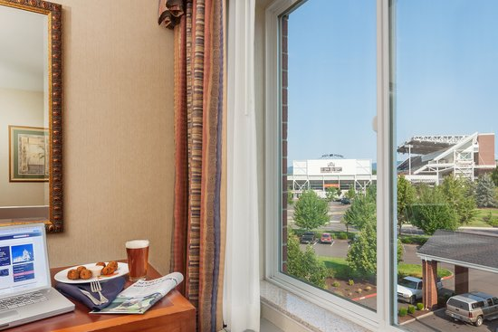 Hilton Garden Inn Corvallis: Coffee with a view