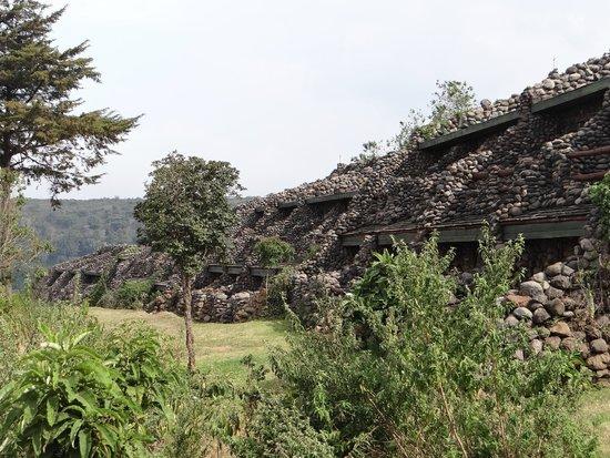 Ngorongoro Serena Safari Lodge: View of apartments