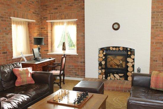 Champneys Springs Health Resort: a lounge