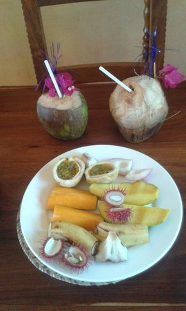Zanzi Resort: Exotic fruit