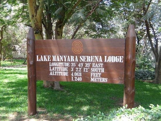 Lake Manyara Serena Lodge: Hotel info
