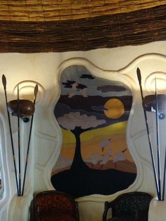 Lake Manyara Serena Lodge: Decor