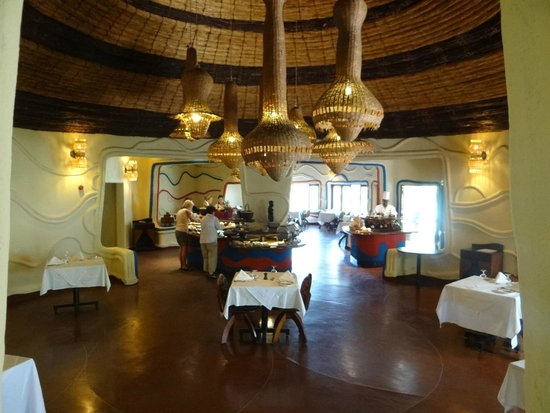Lake Manyara Serena Lodge: Dining area
