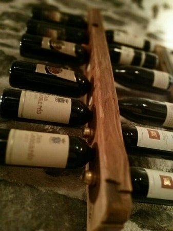Corte dei Toldi: Grande varietà di vini