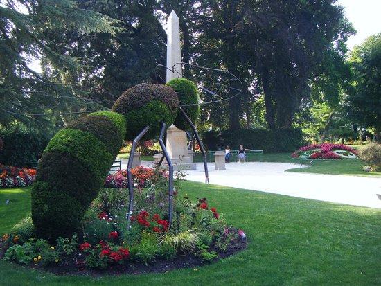 Jardin des plantes de Coutances: 1