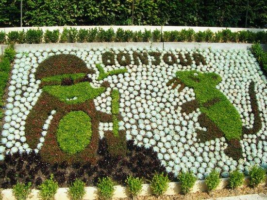 Jardin des plantes de Coutances : 4