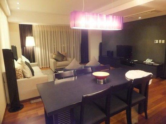 InterContinental Asiana Saigon Residences: dining area
