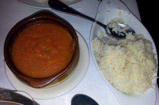 Little Brazil: rice and Yuca puree
