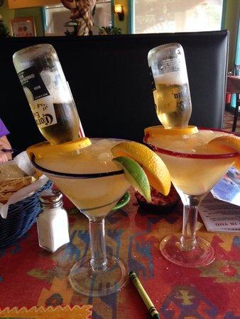 Rosalita's Tex Mex Grill: Had to order a Beer-Rita