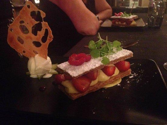 Au pourquoi pas : Millefeuille fraise