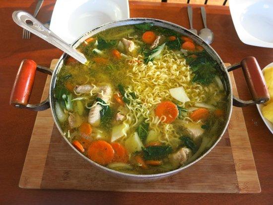 Rabosea Bed & Breakfast : Tasty soup, mmmmmm!