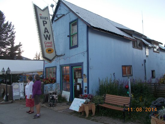 Bear's Paw Cafe : The Bear's Paw