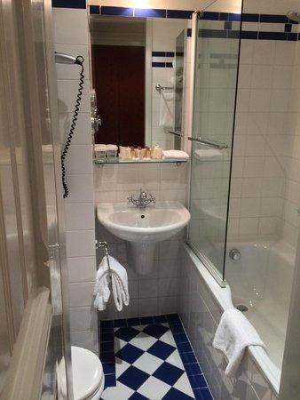 Hotel Paris Prague: Deluxe room (Bathroom)