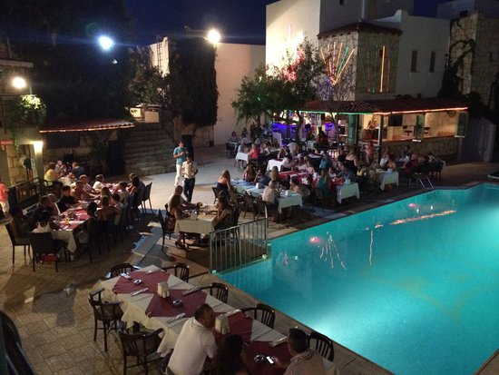 Green House Apart Hotel: Turkish Night