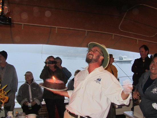 Schooner Stephen Taber Day Cruises: Captain Noah Barnes