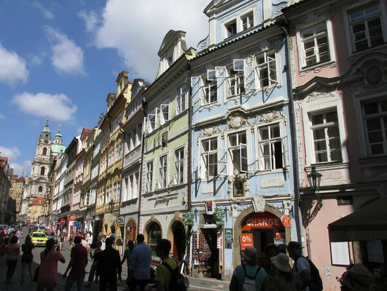 Charles Bridge Economic Hostel: The street