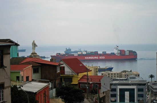 Valparaiso Experience Apartments: view from EccoDuplex 1