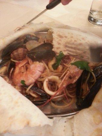 Ai Tre Archi: seafood pasta