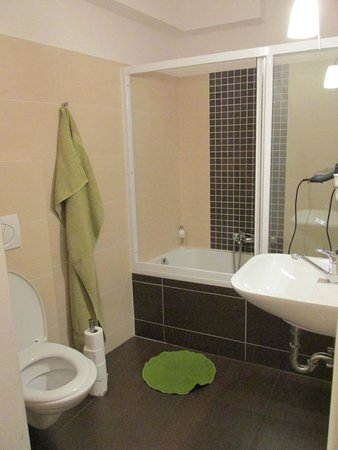 Charles Bridge Economic Hostel: Private bathroom
