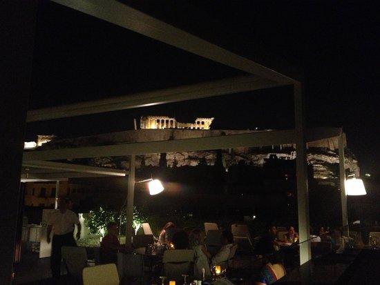 Herodion Hotel: Rooftop bar