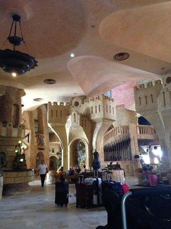Lella Baya: Part of main entrance/reception