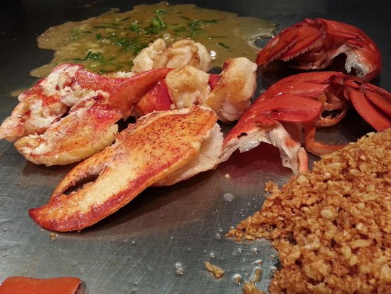 Kobe: Fresh lobster